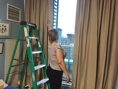Toronto Downtown Drapery Cleaning